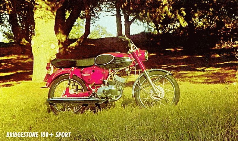 1967 Bridgestone Motorcycles 100cc Models
